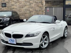 BMW Z4 sDrive23i ハイラインパッケージ ユーザー買取車 ハイラインPKG 黒レザーシート シートヒーター Pシート HID 純正ナビ Bカメラ ETC 電動オープン 禁煙車