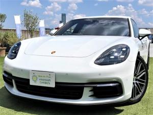 ポルシェ パナメーラ ベースグレード オプション21AW/革シート/パワーバックドア/スマートキー/ワンオーナー車/LEDライト