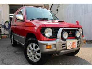 三菱 パジェロミニ  4WD ターボ 5速マニュアル 寒冷地仕様 キーレス CDデッキ
