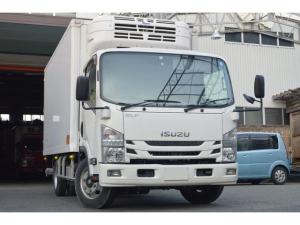 いすゞ エルフトラック ベースグレード 3t格納ゲート 冷凍車 サイドドア Bカメラ