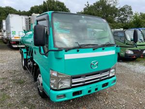 マツダ タイタントラック  3t 2700L バキュームカー タンク床板補強済み&ポンプオーバーホール済み&架装部点検整備済み