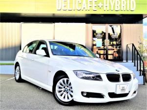 BMW 3シリーズ 320i 後期モデル 純正HDDナビ 地デジTV バックカメラ スマートキー HIDヘッドライト 禁煙車 パワーシート