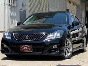 トヨタ クラウン 2.5アスリート アニバーサリーエディション /サンルーフ/本革シート/メーカーナビ/Bluetooth/フルセグ/バックモニター/シートヒーター/シートクーラー