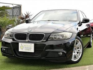 BMW 3シリーズ 320i Mスポーツパッケージ 純正マルチナビ DVD再生 ミラー一体型ETC パワーシート HID