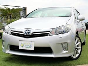トヨタ SAI G メーカー8インチナビ/Bluetooth/バックカメラ/スマートキー/LEDライト/クルーズコントロール/車検整備付