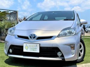 トヨタ プリウス S 後期モデル/純正ナビ/TV/バックカメラ/スマートキー/Bluetooth/HID/車検整備付