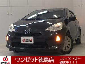 トヨタ アクア S 純正HDDナビ バックカメラ スマートキー ETC