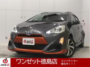 トヨタ アクア X-アーバン スマートキー ハーフレザーシート 純正SDナビ