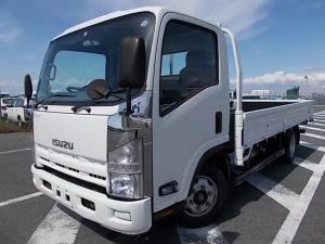 いすゞ エルフトラック 3t積・ワイドロング・平ボディ・6MT・全低床