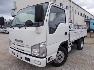 いすゞ エルフトラック 2t積・5MT・10尺・5t未満・平ボディ・Wタイヤ
