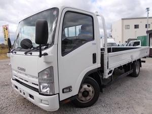 いすゞ エルフトラック 3t積・6MT・ワイドロング・平ボディ