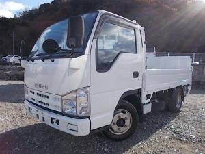 いすゞ エルフトラック 2t積・パワーゲート付・平ボディ・5MT・5t未満