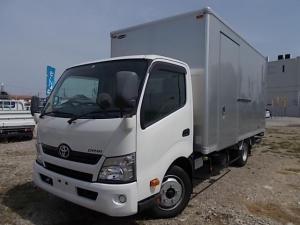 トヨタ ダイナトラック 2t積・格納ゲート付アルミV・ワイド・ロング・サイド扉 AT車・Bカメラ
