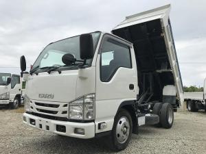 いすゞ エルフトラック 3t積・ダンプ・歩み掛け・コボレーン・中間ピン付・6MT