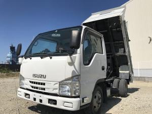 いすゞ エルフトラック 2t積・ダンプ・5MT・コボレーン付・全低床・準中型免許対応