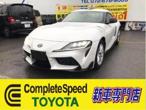 トヨタ スープラ SZ新車 セレクトオプション