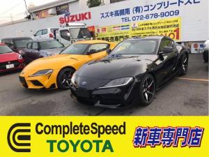 トヨタ スープラ RZ460馬力ECUチューン新車コンプリート
