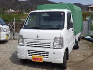 スズキ キャリイトラック 幌 キャリイトラック AT ローン可 積載350kg 車検付