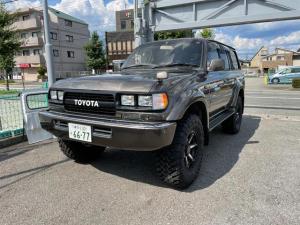 トヨタ ランドクルーザー80 VXリミテッド リフトアップ!ヒッチメンバー・リアキャリア・バックカメラ・ディスプレイオーディオ・ETC