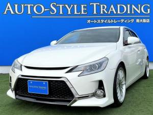 トヨタ マークX 250G G's仕様/車高調/19インチアルミホイール/純正ナビ/ETC/バックモニター