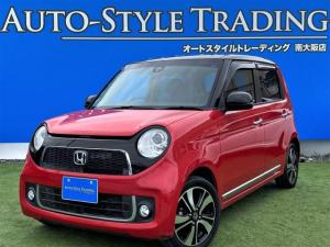 ホンダ N-ONE プレミアム ツアラー ツートンカラースタイル赤黒/安心パッケージ/ターボ/純正ナビ/Bluetooth/クルーズコントロール/バックカメラ/プッシュスタート/衝突軽減ブレーキ/車検整備付き/パドルシフト