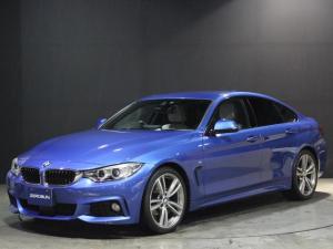BMW 4シリーズ 420iグランクーペ Mスポーツ レザー シートヒーター