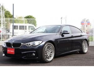 BMW 4シリーズ 420iグランクーペ Mスポーツ 純正ナビ バックカメラ サンルーフ 革シート シートヒーター パワーシート スマートキー