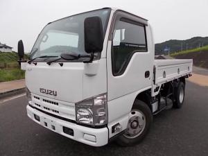 いすゞ エルフトラック 3t積・6MT・平ボディ・4ナンバー・高床