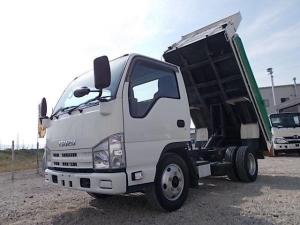 いすゞ エルフトラック 電動コボレーン付・3t積・強化ダンプ・4ナンバー