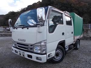 いすゞ エルフトラック 1.75t積・Wキャブ・幌・A/T・6人乗・5t未満