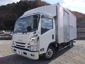 いすゞ エルフトラック 2t積・格納パワーゲート付・6MT・ワイド・ロング・アルミV