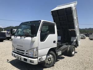 いすゞ エルフトラック 2t積・ダンプ・中間ピン・コボレーン付・高床車・5t未満
