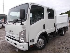 いすゞ エルフトラック 2t積・パワーゲート付・ワイド・ロング・Wキャブ・6MT