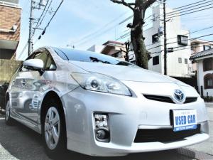 トヨタ プリウス S 地デジ バックカメラ ETC LEDヘッドライト LEDテール スマートキー プッシュスタート キーレスエントリー イモビライザー 純正ナビ DVD再生可