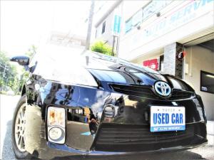 トヨタ プリウス S 純正ナビ 地デジ バックカメラ ETC スマートキー プッシュスタート キーレス LEDテール プロジェクターヘッドライト フォグ