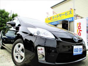 トヨタ プリウス S 純正HDDナビ ETC バックカメラ スマートキー プッシュスタート キーレス LEDテール プロジェクターヘッドライト フォグライト