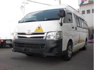 トヨタ ハイエースコミューター 園児バス定員大人4人幼児18人