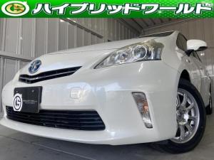トヨタ プリウスアルファ 社外アルミ・ビルトインETC・LEDライト・プッシュスタート