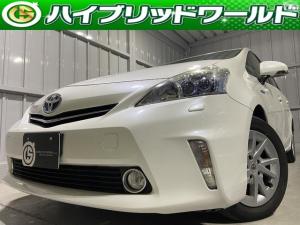 トヨタ プリウスアルファ S 2眼LEDライト・SDナビ・ETC・バックカメラ