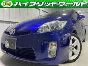 トヨタ プリウス Sツーリングセレクション 純正ナビ・Bカメラ・LEDライト