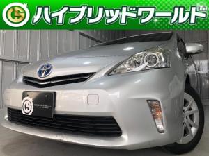 トヨタ プリウスアルファ S Lセレクション シートカバー・純正16インチアルミ