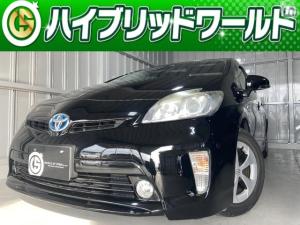 トヨタ プリウス GビルトインETC・純正ナビ・バックカメラ