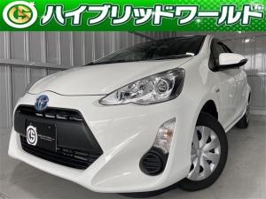 トヨタ アクア L衝突安全ブレーキ・ETC・HDナビ・ワンセグ