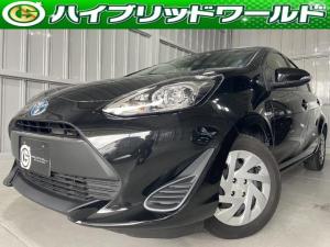 トヨタ アクア Sトヨタセーフティセンス・バックカメラ・ワンセグ・ETC