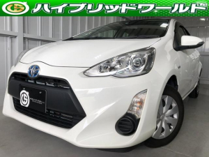トヨタ アクア L 中期・ナビ・ETC・キーレス