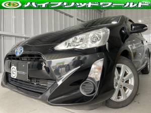 トヨタ アクア S衝突安全ブレーキ・バックカメラ・ワンセグ・ビルトインETC