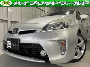 トヨタ プリウス GツーリングレザーPKG・パワーシート・フォグ・クルコン