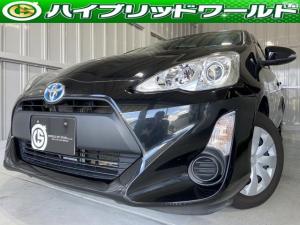 トヨタ アクア Lワンオーナー・バックカメラ・フルセグ・ETC・社外ナビ