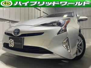 トヨタ プリウス S 衝突安全ブレーキ・9インチナビ・クルコン・Bカメラ