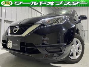 日産 ノート X 安全ブレーキ・バックカメラ・ワンセグ・BT・ETC